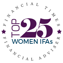 Voted Top 25 Woman IFA